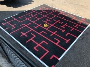 Primary School Playground Maze
